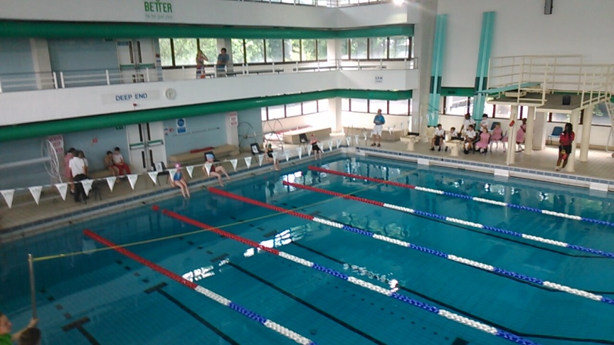 swimming as a sport for schoolkids