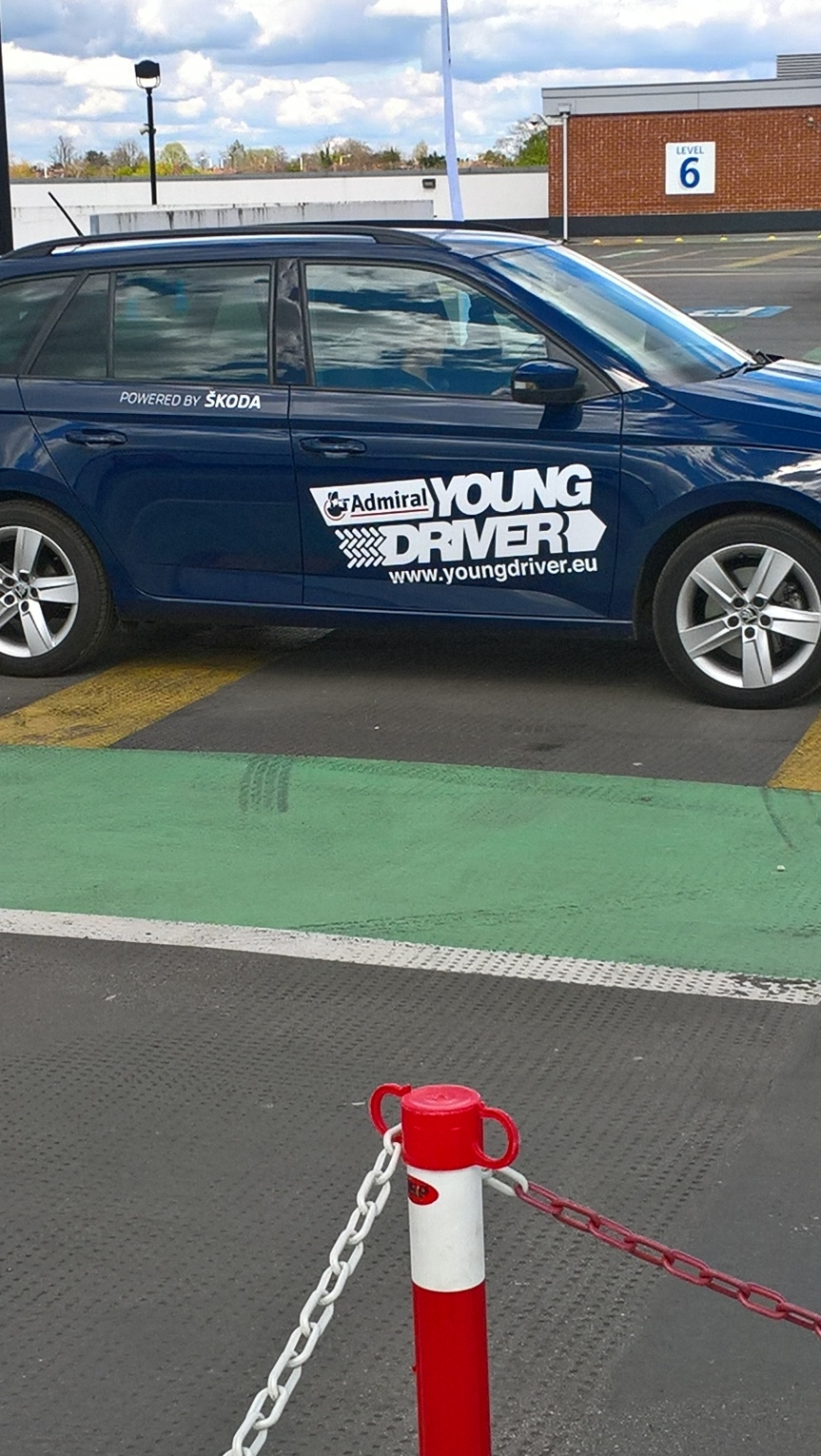 young driver lesson