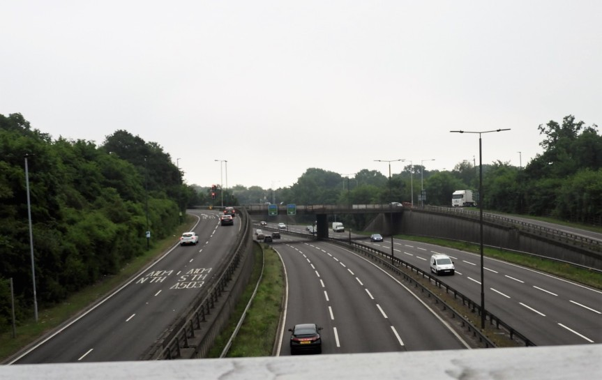 motorway Epping Forest